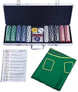 Costway Pokerset 500 Laserchips