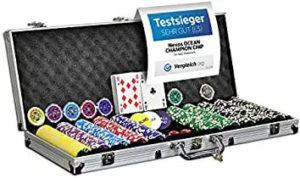 Nexos Pokerkoffer 500 Laserchips