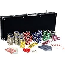 Ultimate Pokerset 500 Chips Black Edition von Maxstore