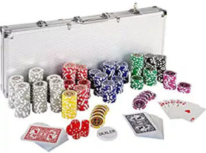 Ultimate Pokerset 500 Chips von Maxstore