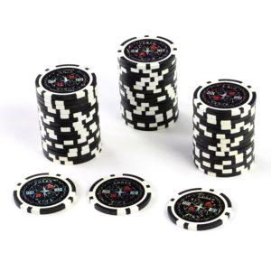 Pokerchips 50 laser schwarz