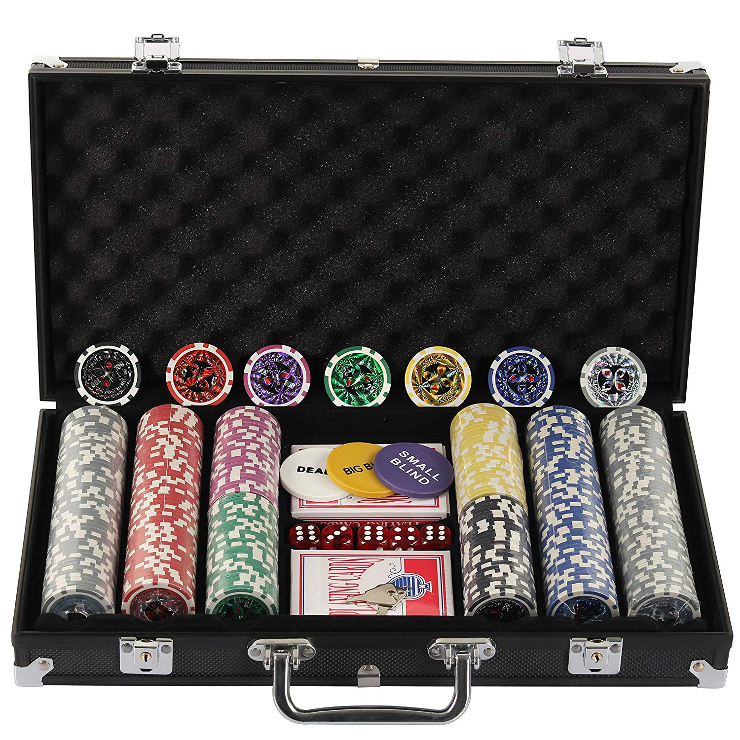 Display4top Pokerset 300 Chips