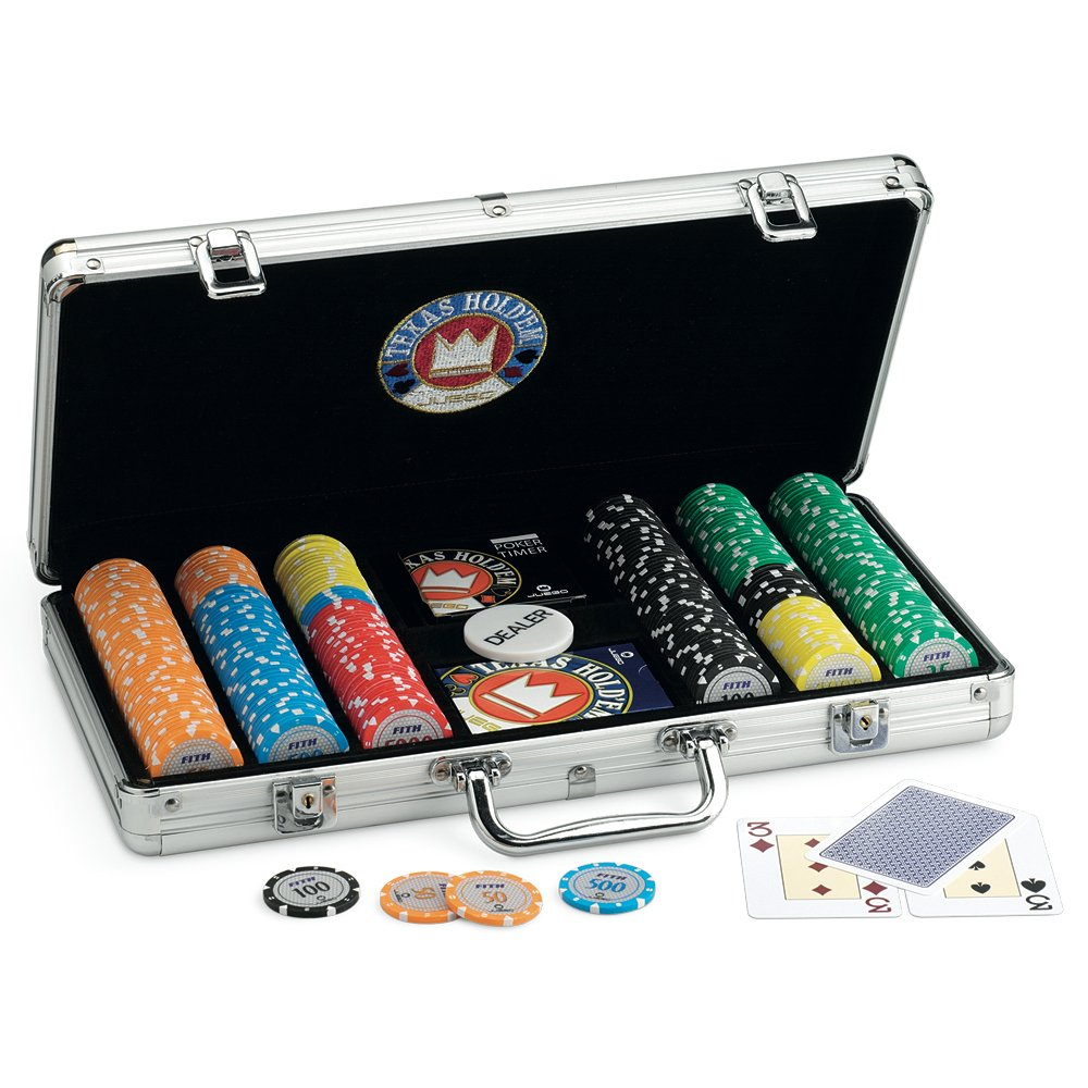 Juego Pokerset 300 Chips