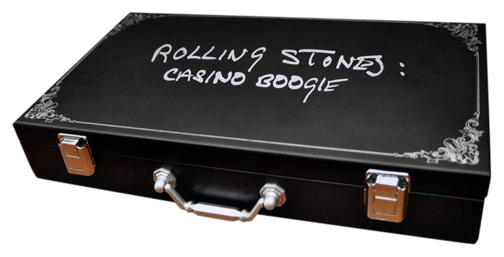 Rolling Stones Pokerset 300 Chips