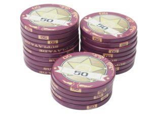 Pokerchips Sheriffstars