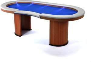 Pokertisch Nexos mit LED Beleuchtung