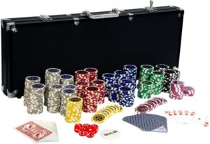 Ultimate Black Edition Pokerset 500 12 Gramm Laserchips
